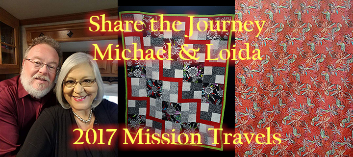 Share the Journey with Michael & Loida, 2017 Mission Travels