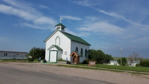 Saint Michaels Church in Hermosa