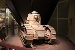 French-made Renault FT-17 tank