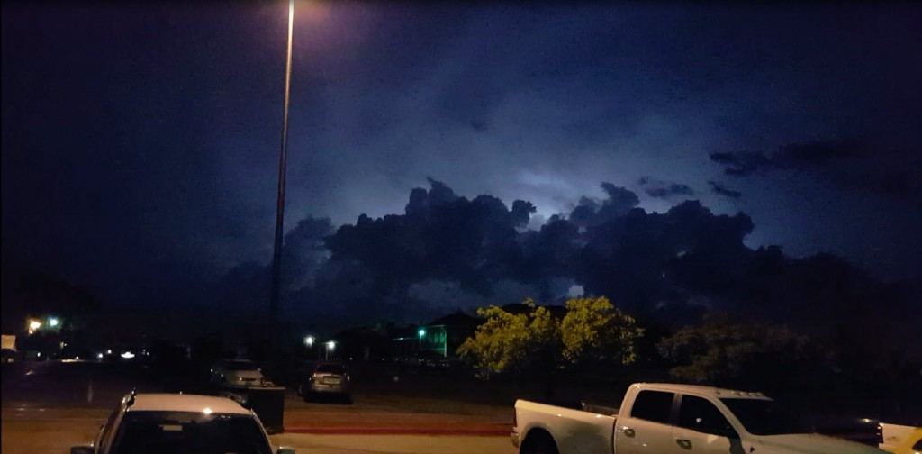 Storms in the Night Sky