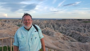 Mike in the Badlands of South Dakota